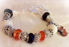 Baltimore ORIOLES  jewelry bracelets handmaded Necklace by SWANKEE