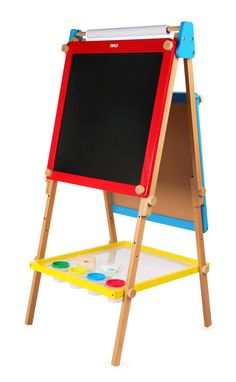 Buy Height Adjustable Easel from our Art & Drawing Toys range at Bigjigs Toys. Award winning toys for every step of the way. Wooden Bed Frames, Wooden Easel, John Crane, First Birthday Presents, 3rd Birthday, Birthday Ideas, Art And Craft Materials, Baby Doll Accessories, Magnetic White Board