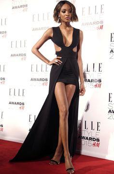 sand-snake-kate:Jourdan Dunn attends Elle Style Awards 2015