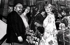 Il regista #SergioLeone #DoloresPuthod e #SilviaKoscina #BicentenarioTeatroAllaScala