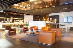 Lufthansa First Class Lounge - Frankfurt, Germany