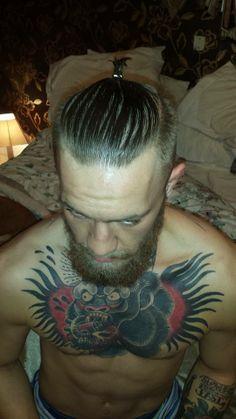 Conor McGregor. Man Bun Wearer. Inspiration. UFC Champion. Bearded Bandit.