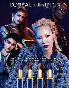 巴黎品牌Balmain繼去年同H&M聯乘,今年品牌轉向美妝界,5月宣布與定價大眾化的L'Oreal ...