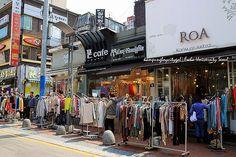 Seoul Itinerary Day 5: Ewha Women University Shopping Street ...