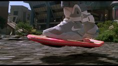 Mom Steve is rocking the same Nikes as Marty McFly