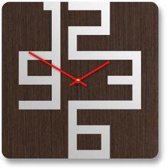 Design Inspiration: Stylish Wooden Wall Clocks With Modern Design | Flickr - Photo Sharing! Best Wall Clocks, Cool Clocks, Clock Art, Diy Clock, Contemporary Wall Clocks, Modern Wall, Wooden Clock, Wooden Walls, Unusual Clocks