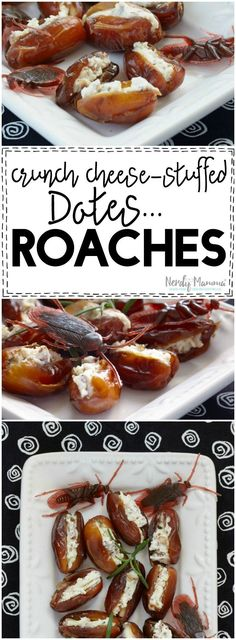 OMG! These are such a great gross food recipe idea...I love it. But eeeewwww…