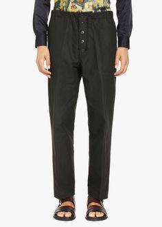 DRIES VAN NOTEN Porto Elastic Pants. #driesvannoten #cloth #all