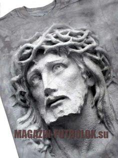 3D футболка с Иисусом Христом - Crown of Thorns