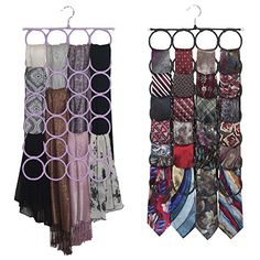 Scarf Tie Hanger Closet Door Organizer No Snags Best Space Saving for Infinity Scarves and Tie Rack Marcus Mayfield http://www.amazon.com/dp/B00ICDPN5Y/ref=cm_sw_r_pi_dp_o75Eub17FM2D3