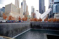 // World Trade Center  #worldtradecenter #memorial #911 #fountain #newyork #newyorkcity #NYC #canon #canon_photos