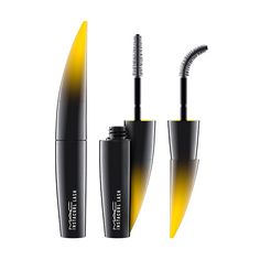 Instacurl Lash in Instablack: A mascara with a customizable curved brush that curls lashes upon application.