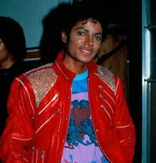 I love micheal jackson i grew up on him and i love his music peroid but what i really love is his red jacket with the zippers i really really really love that jacket imagined if i had it what i would wear with it like some good pair of black leggings or some skinny jeans with some air forces ones lol