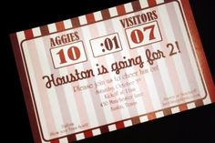 Aggies birthday football party!  Gig em!  By HH Design House.  Please email info@hhdesignhouse.com with inquiries.
