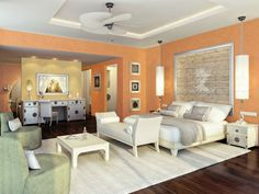 Colonial bedroom. (Sabulador, Valpaint)