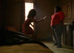 Queenie y Ramona fight scene Ahs Hotel, American Horror Story Seasons, Season 1, Tv Shows, Scene, Concert, Concerts, Stage, Tv Series