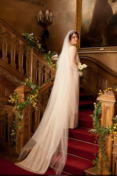Mary's Wedding Downton Abbey | SPOILER ALERT! This post is intended for those who have already seen ...