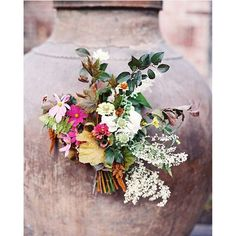 """""""Regram from @green_apple_photo of this autumnal bouquet made with pieces from my yard, three years ago now! I still love it."""" Photo taken by @sarah_winward on Instagram, pinned via the InstaPin iOS App! http://www.instapinapp.com (10/29/2015)"""