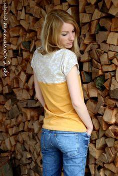 spitze nähen spitzen shirt