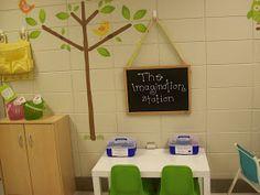 First Grader...at Last!: The Imagination Station