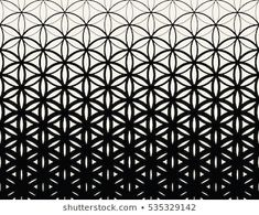 Abstract sacred geometry black and white gradient flower of life halftone pattern Geometric Tattoo Pattern, Geometric Sleeve Tattoo, Halftone Pattern, Floral Pattern Vector, Geometric Mandala, Lotus Mandala, Forearm Band Tattoos, Line Tattoos, Sleeve Tattoos