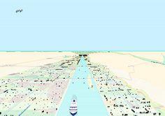 900 Km Nile City is a research by Atelier Kempe Thill, baukuh, GRAU, Lola, Aymen Hashem-AHUD, Deerns Italia, Angelo Boris Boriolo, Stefano Graziani, Saverio Pesapane, Bas Princen, Giovanna Silva with Amr Abdel Kawi and Moataz Faissal Farid.