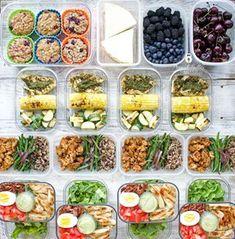 Meal Prep - Week of August 2018 - Peanut Butter and Fitness Best Meal Prep, Meal Prep Plans, Meal Prep For The Week, Food Prep, Healthy Cooking, Healthy Eating, Clean Eating, Healthy Food, New Recipes