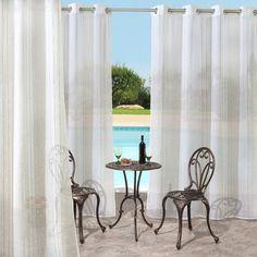 Found it at Wayfair - Isme Indoor/Outdoor Single Curtain Panel