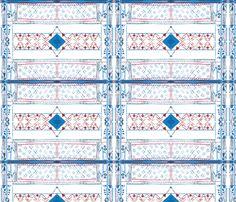 Geometry_RB_Arrow fabric by teatralka on Spoonflower - custom fabric