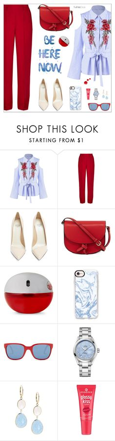 """""""Без названия #2115"""" by nastenkakot ❤ liked on Polyvore featuring Lemaire, Francesco Russo, KC Jagger, DKNY, Casetify, Polo Ralph Lauren, OMEGA, Saks Fifth Avenue and Topshop"""