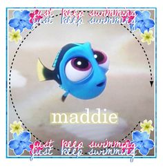 """""""(Claimed) Baby Dory icon"""" by hobbit-child-icons ❤ liked on Polyvore featuring art"""
