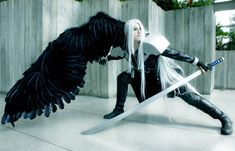 This sephiroth cosplay is definitely the best I've ever seen