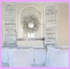 19 Shabby Chic Living Room Ideas That Will Totally Melt Your Heart! - 19 Shabby Chic Living Room Ideas That Will Totally Melt Your Heart! Cottage Living Rooms, Shabby Chic Living Room, Shabby Chic Bedrooms, Shabby Chic Kitchen, Shabby Chic Homes, Shabby Chic Furniture, Living Room Decor Shabby Chic, Shabby Chic Headboard, White Bedrooms