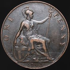 #Coins #Numismatics #KMCoins Old British Coins, Old Coins Value, Dime Bags, King Edward Vii, Coin Values, Antique Coins, Old Money, World Coins, Rare Coins