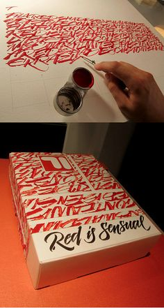 Red Graffiti Lettering Arts by Luca Barcellona Typography Love, Typography Inspiration, Typography Letters, Graphic Design Typography, Graphic Design Inspiration, Graffiti Lettering, Creative Typography, Vinyl Lettering, Grafiti