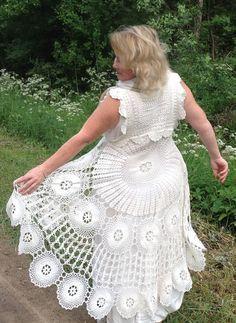 White Lace Skirt, Girls Dresses, Flower Girl Dresses, Wedding Dresses, Crochet, Skirts, Image, Fashion, Crochet Dresses