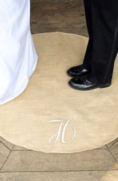 CATHY'S CONCEPTS Personalized Wedding Vow Rug available at #Nordstrom