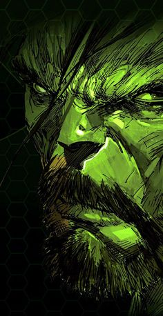 #Hulk #Fan #Art. (Incredible Hulk) By: Marc Silvestri. (THE * 5 * STÅR * ÅWARD * OF: * AW YEAH, IT'S MAJOR ÅWESOMENESS!!!™)