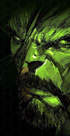 #Hulk #Fan #Art. (Incredible Hulk) By: Marc Silvestri. (THE * 5 * STÅR * ÅWARD * OF: * AW YEAH, IT'S MAJOR ÅWESOMENESS!!!™)