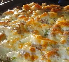 Dinner Casserole Recipes, Casserole Dishes, Farmers Casserole, Cowboy Casserole, Breakfast Casserole, Shrimp Dinner Recipes, Rice Recipes For Dinner, Mexican Casserole, Breakfast Potatoes