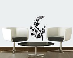 Wall Vinyl Decal Sticker Art Design Abstract Wavy Floral Ornament Pattern with Flowers Room Nice Picture Decor Hall Wall Chu662 Thumbs up decals http://www.amazon.com/dp/B00J9RNXVS/ref=cm_sw_r_pi_dp_qvSItb0WB2F3DSQY
