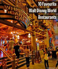 Top 10 Walt Disney World restaurants for table service dining. #DisneyDining