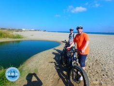 elektrische-fietsen-op-kreta - Zorbas Island apartments in Kokkini Hani, Crete Greece 2020 Electric Mountain Bike, Cycling Holiday, Sun Holidays, Greece Holiday, Fat Bike, Going On Holiday, Walking In Nature, Crete, The Locals