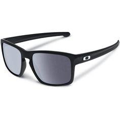 Oakley Sliver Sunglasses - Matte Black Warm Grey