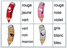 cartapinces sur les couleurs - La classe de Gayanne