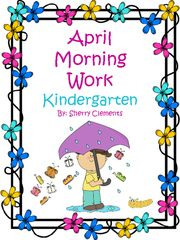 Morning Work (April)- Morning Work (April). This 20 page common core packet contains language arts and math material daily for the month of April. This common core packet is great for morning work, but it can also be used for homework, literacy centers, writing centers, math centers, or a mini lesson. This morning work also comes in a bundle saving you 11%.