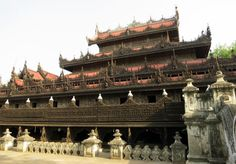Shwenandaw Kyat Teak Monastery