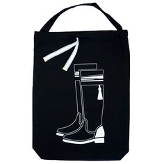 Totedco Knee High Boots Dust Bag | Totedco's range of storage bags are both functional and stylish. Take them anywhere - to work, shopping or on your travels. They're great quality and the illustrations on the front makes it easy to distinguish what is what.
