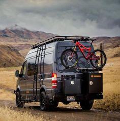 Sprinter van build with Aluminess gear out adventuring in Idaho! Sprinter van build with Aluminess gear out adventuring in Idaho! Mercedes Sprinter Camper, 4x4 Camper Van, Off Road Camper, Sprinter Van Conversion, Camper Van Conversion Diy, Accessoires 4x4, Stealth Camper Van, Custom Camper Vans, Transit Camper