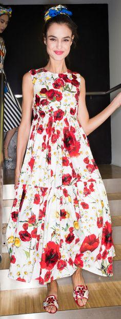 Dolce & Gabbana Ready To Wear Spring 2016 - Backstage